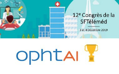 "OphtAI, winner of the ""Grand Prix de l'Innovation"" of the French Society of Telemedicine"