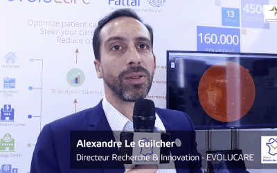 ArabHealth 2020 : Interview of Alexandre le Guilcher, OphtAI's CEO